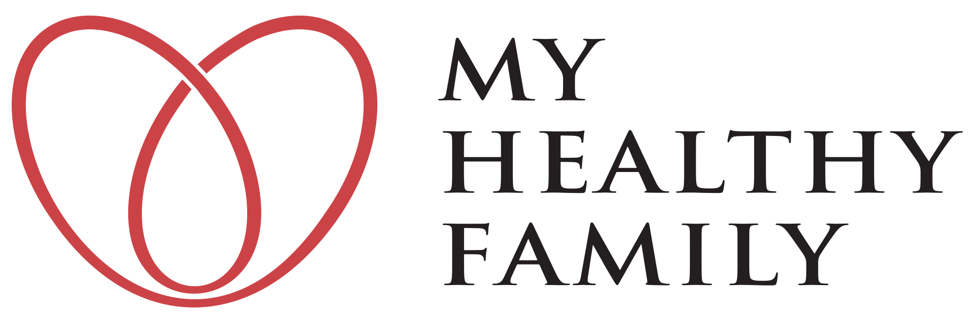 My Healthy Family Logo-Black